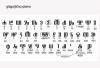 glagoljično pismo / Glagolitic Letters