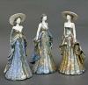keramičke dame 26cm/  Ceramic Ladies  26cm