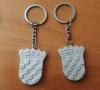 kameni privjesak-hr grb/  Stone Key Rings- Croatian Coat of Arms