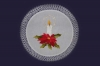 vezeni ukras za stol, božićni motiv /Embroidered Christmas table decoration