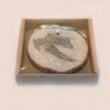 drveni magnet, konfeta  / Wooden fridge magnet, weding confetti