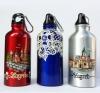 metalna boca s karabinerom /Metal Bottle With Carabiner