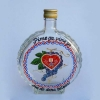 staklena čuturica / Glass Hip Flask