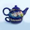 keramički čajnika sa šalicom / Ceramic kettle with mug