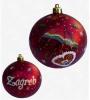 kuglica za bor, u kutiji/ukrasi za bor, plastične kuglice/ Christmas tree decorations, plastic balls