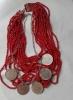 dvojan ogrlica, škuderi + kraluž /Necklaces set-kraluž & škuderi