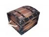gusarska škrinja / pirate's wooden chest