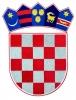 vezeni hrvatski grb /Croatian Coat of Arms, embroidered