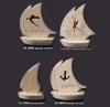 kamena jedrilica  /Stone Sailboat