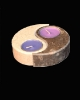kameni svijećnjak jin-jang / Jin -Jang Stone Candlestick