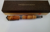 kemijska olovka od maslinova drva, kutija / Olive Wood Pen, gilded -box