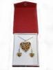 komplet nakit, školjka sedef /Women's jewelry , licitar