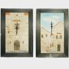 zidni sat, relefi portala / Wall clock, relif portals