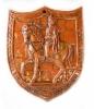 ukrasna keramička ploća -ban Jelačić /   Decorative relief plate - ban Jelačić