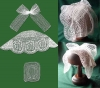 međimurska poculica od čipke /Medjimurje poculica, of lace