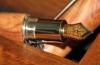 nalivpero od maslinova drva-pisaljka  /olive wood fountain pen                 /