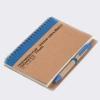 notes, bio razgradiv / Recycled paper notebook + pen