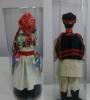 lutke, par šestinčana (leđa) / The dolls in Šestine folk costumes 28-33cm