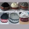 vunene kape, slavonski motivi/Woolen Cap with Slavonian traditionalmotif