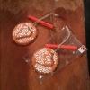 starogrojski paprenjak, srce ukras / Starogrojski paprenjak , hearth decoration