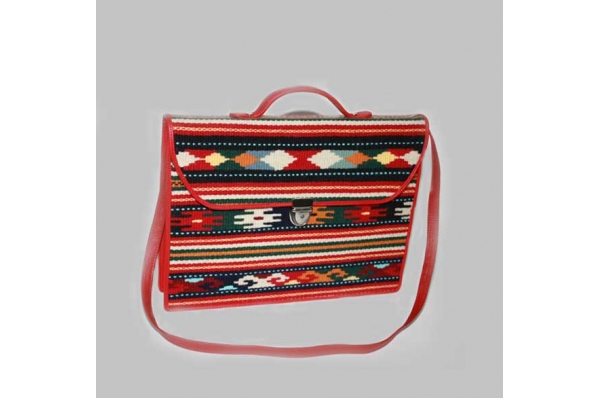 ženska poslovan torba-tkanica / Women's business bag- tkanica
