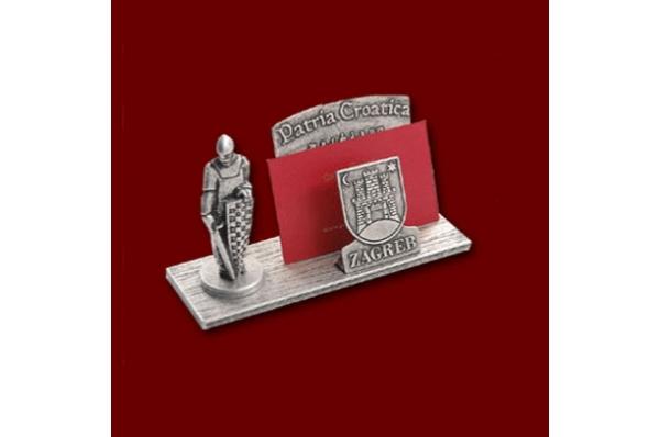 metalni držač vizitki /Metal Business Card Holder