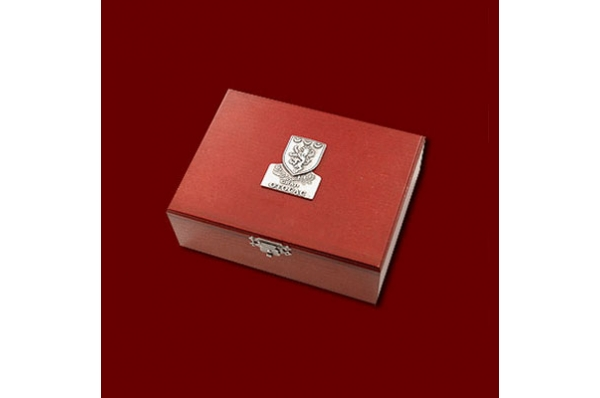 metalni držač vizitki- kutija /Metal Business Card Holder in a box
