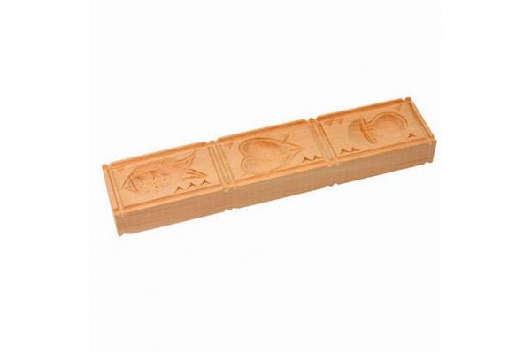 Mold for paprenjak biscuit