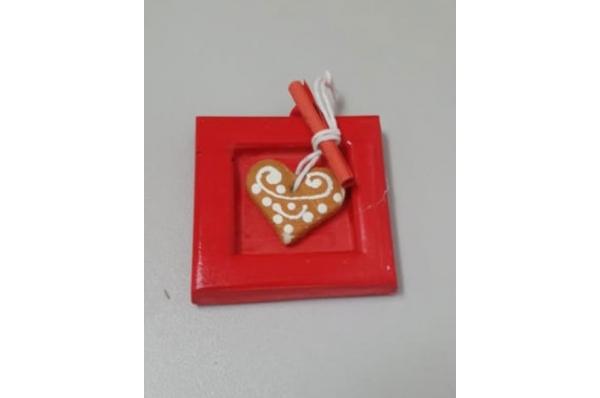 starogrojski paprenjak, crveni magnet /Fridge magnet- paprenjak of Hvar (starogrojski)