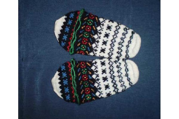 vunene papuče-mekavci /Women's wool slippers - mekavci