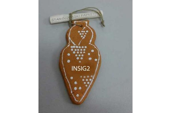 starogrojski paprenjak, ukras za bor / Starogrojski paprenjak , decoration for Christmas tree