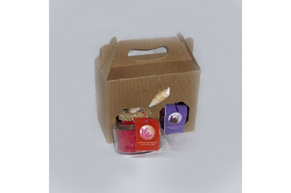 paket 2 mirisne soli u kutiji / Fragrant Bath Salt  package 200 gr