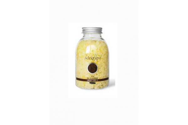 mirisna sol limun-smilje 300gr / Fragrant Bath Salt ,lemon-smilje 300 gr