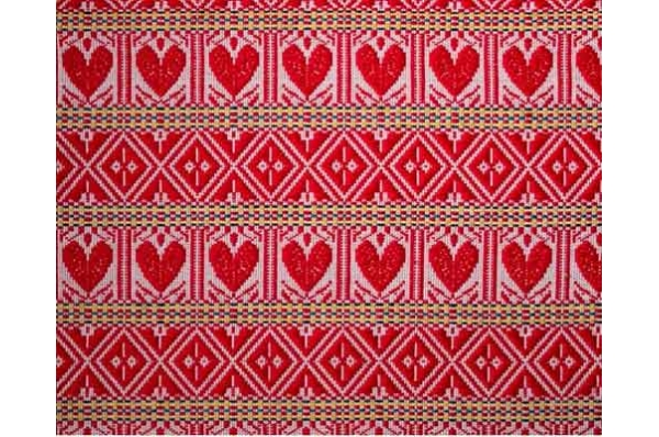 stolnjaci /nadstolnjaci crvena srca /  Tablecloths and Runners red hearth
