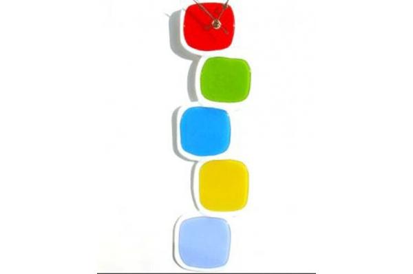 zidni sat, murano staklo /Wall clock, murano glass