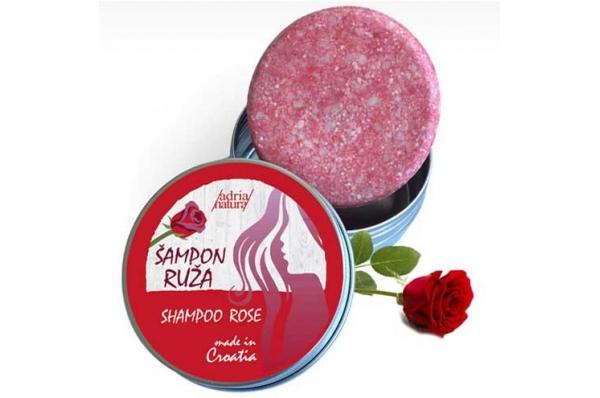 kruti šampon za kosu-ruža/ rigid hair shampoo-rosa