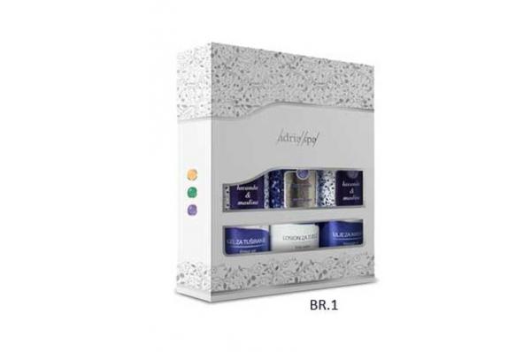 paket 3 proizvoda lavanda-maslina / gift set , 3 products lavand-olive