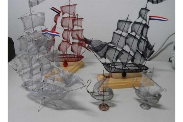 jedrenjaci i liburna žičani brodovi /Wire  Sailboats