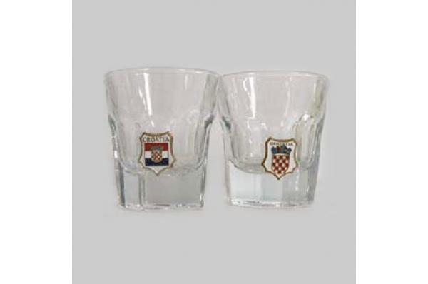 čašice s grbom /A Glass With Croatian Coat of Arms