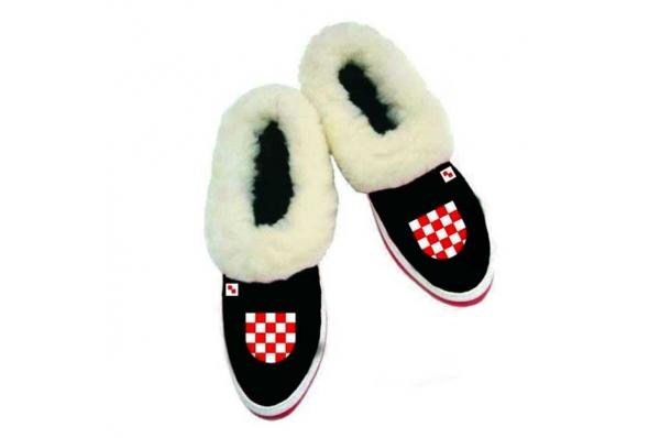 etno kožne papuče /Ethno Slippers, natural leather