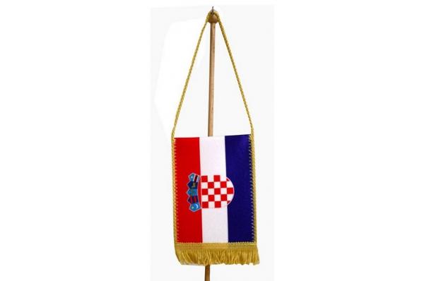 autozastavica, Hrvatska / Car flag Croatia