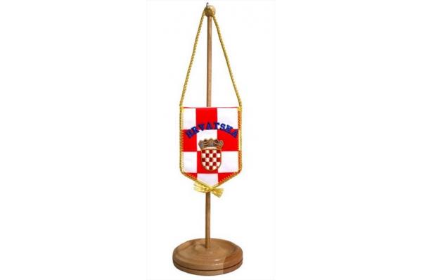 autozastvica kockasta /car flag Croatia (white-red squares)