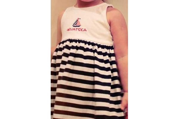 dječja prugasta haljina/Baby dresses