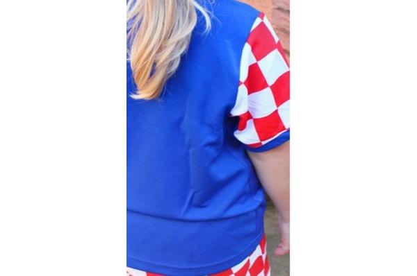 dječji nogometni dres /Croatian football jersey for kids