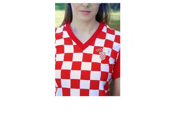 ženska kockasta majica /Women's T-shirts
