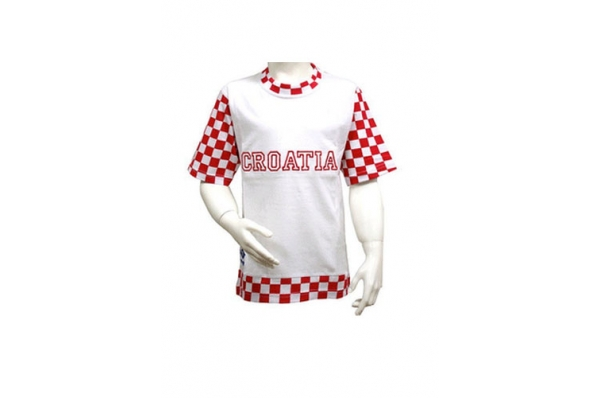 bijela majica-Croatia /Men's T-shirt