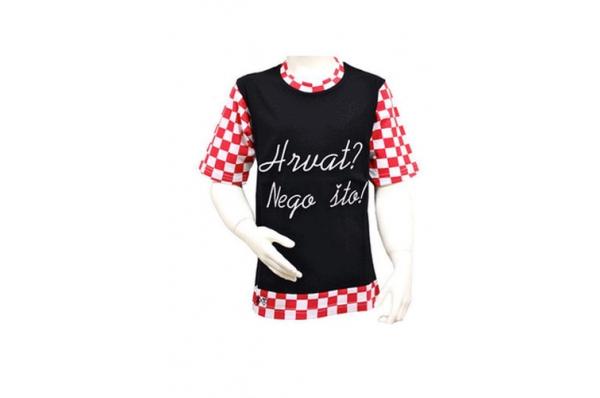 majica-Hrvat nego što /Men's T-shirt