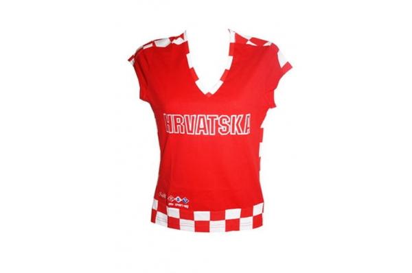 ženska pamučna majica ,Hrvatska /Women's T-shirts