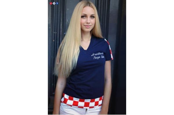 ženska pamučna majica, Hrvatsica nego što/Women's T-shirts
