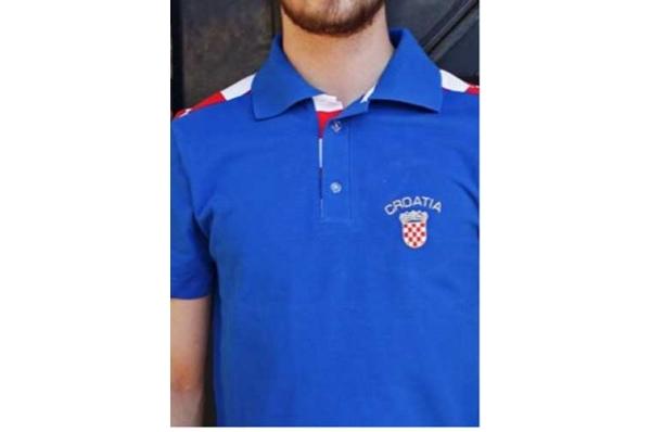 muška polo plava majica /Polo shirt
